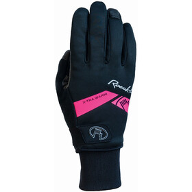 Roeckl Villach Gloves black/pink